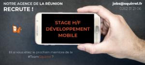 Stage développement mobile 974