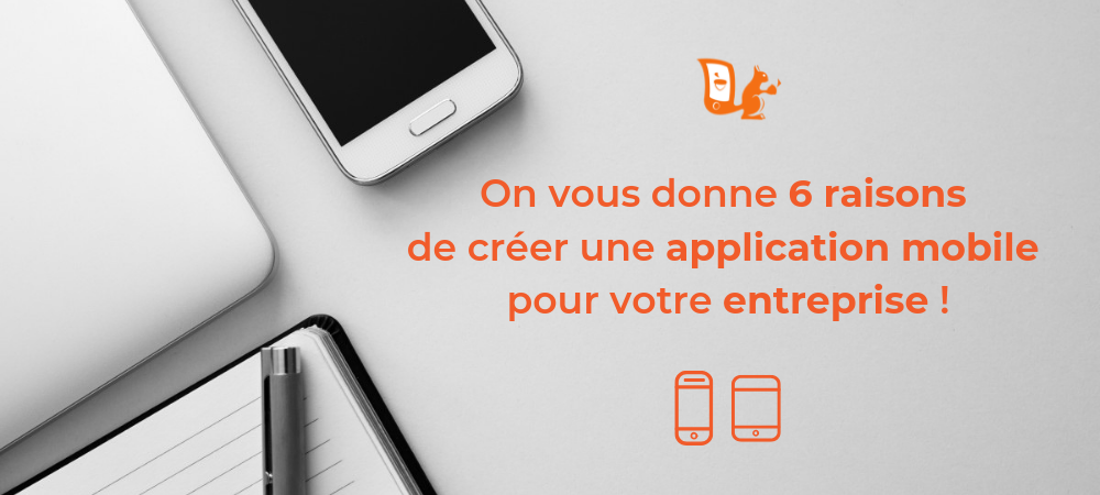 raisons dvlper application entreprise