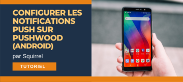 configurer notifications pushwood android