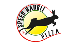 Logo speed rabbit pizza