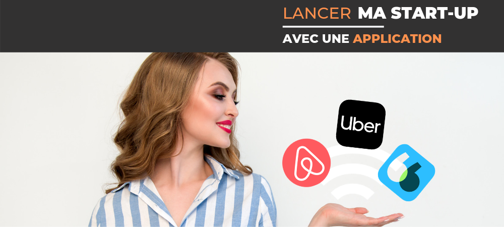 Lancer startup application mobile