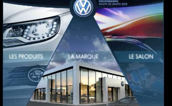 Capture d'écran application secteur automobile Volkswagen (1)