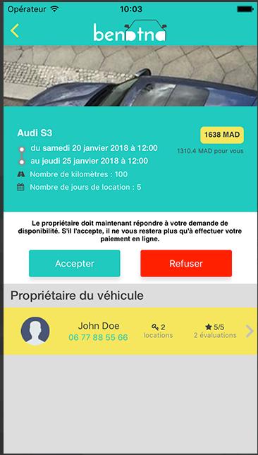 Capture d'écran application secteur automobile benatna (3)