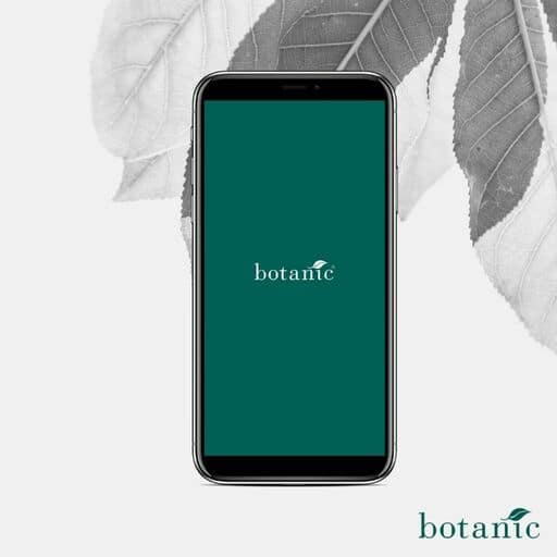 Accueil application Botanic