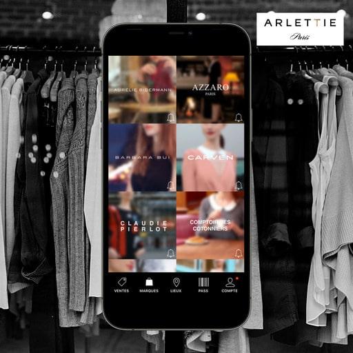Application Arlettie