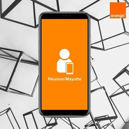 Application Orange et Moi Réunion
