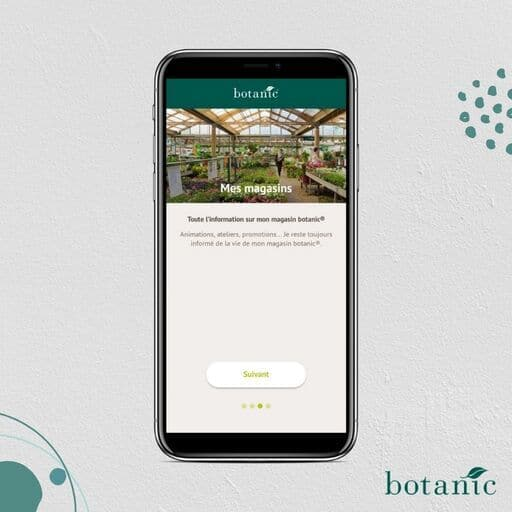 Application magasin Botanic