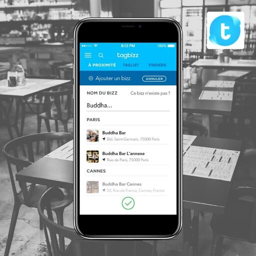 Chercher un restaurant sur Tagbizz