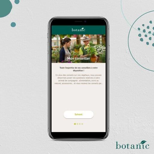 Conseils sur l'application Botanic