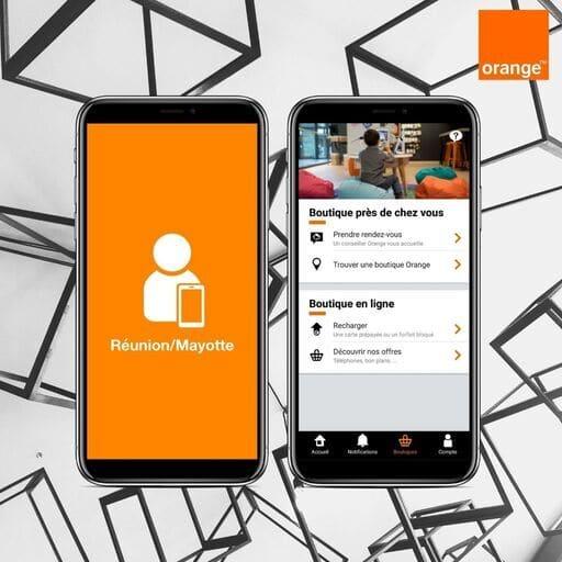 Découvrir l'application Orange et Moi