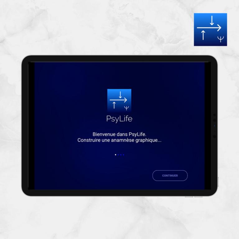 Ecran d'accueil 5 PsyLife