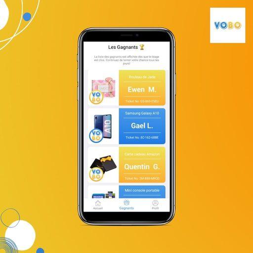Gagner des cadeaux sur VOBO