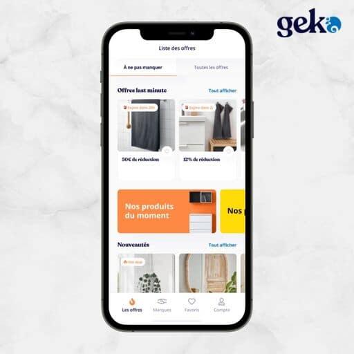 Les offres à ne pas manquer sur Geko