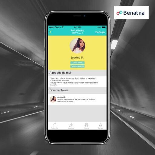 Mon profil sur Benatna