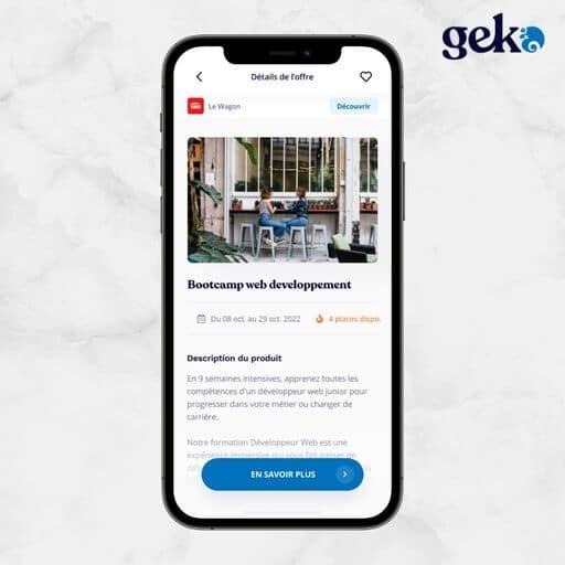 Prestation sur Geko