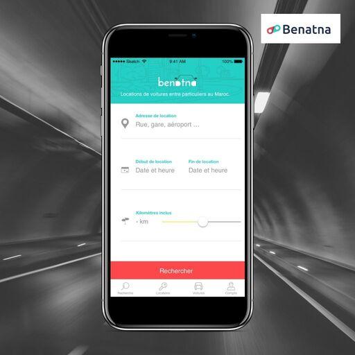 Récapitulatif infos location de voiture sur Benatna