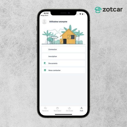 Se connecter sur Zotcar