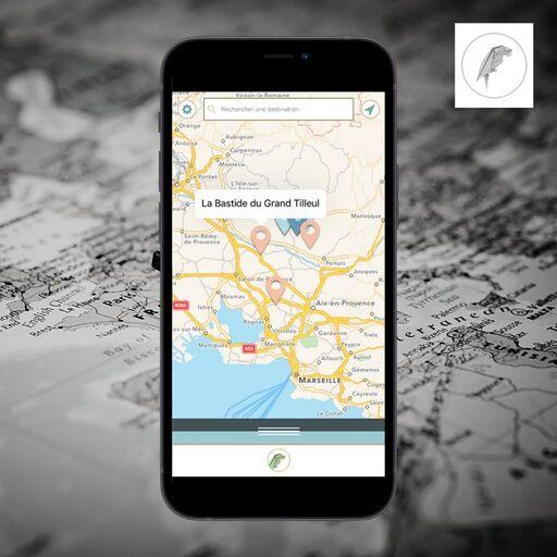 Trouver un endroit avec Mapteller