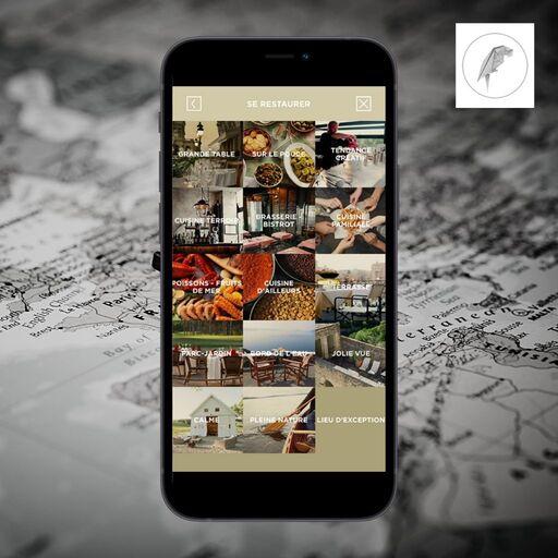 Trouver un restaurant avec Mapteller