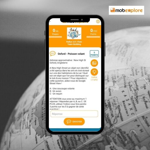 Utiliser l'application Mobexplore