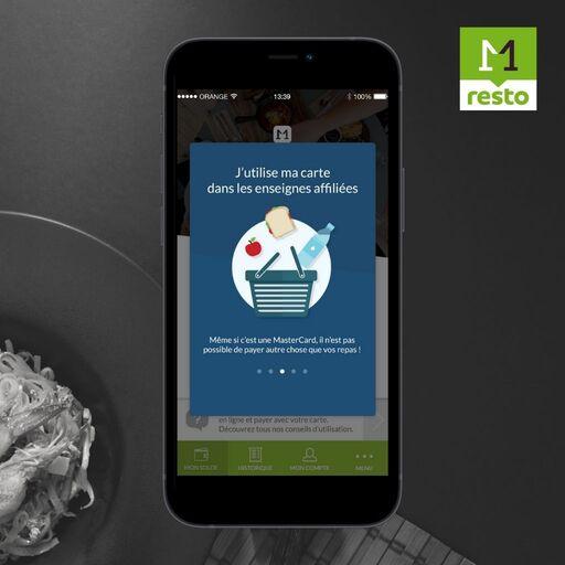 Utiliser sa carte sur Monetico Resto