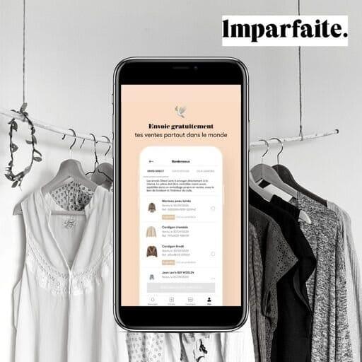 Vendre un vêtement sur Imparfaite