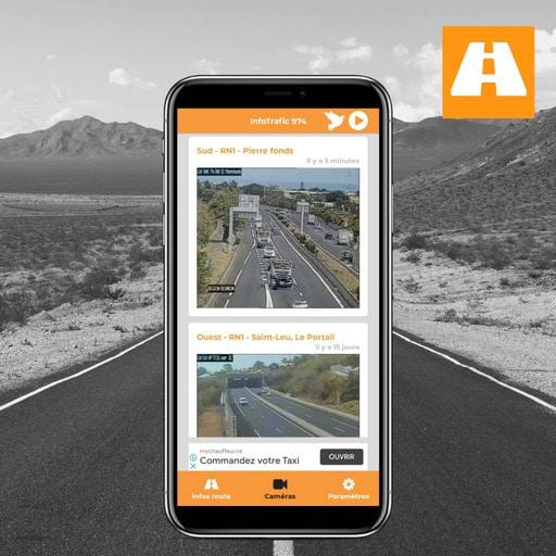 Visualiser la route avec Infotrafic