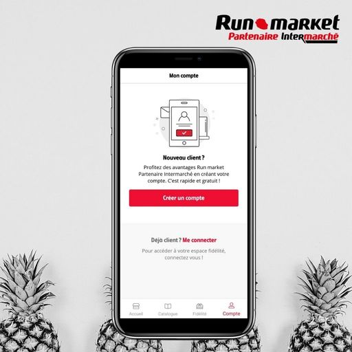 Créer un comtpe sur Runmarket