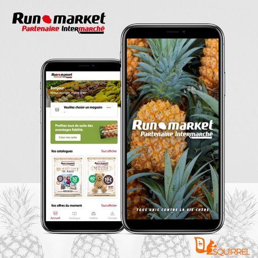 L'application de Runmarket