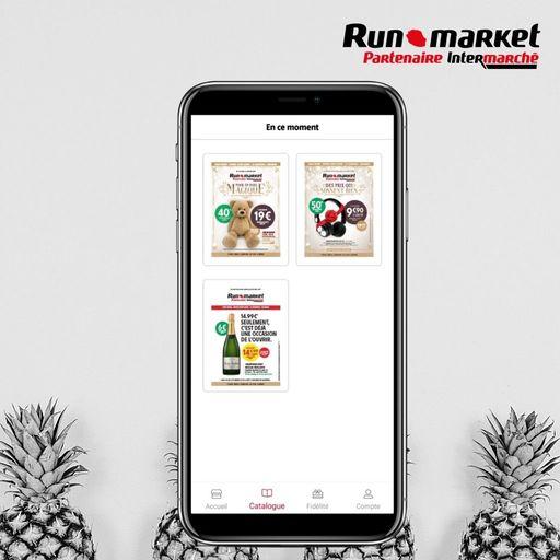 Les offres du moment sur l'application Runmarket