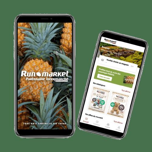 Runmarket l'application