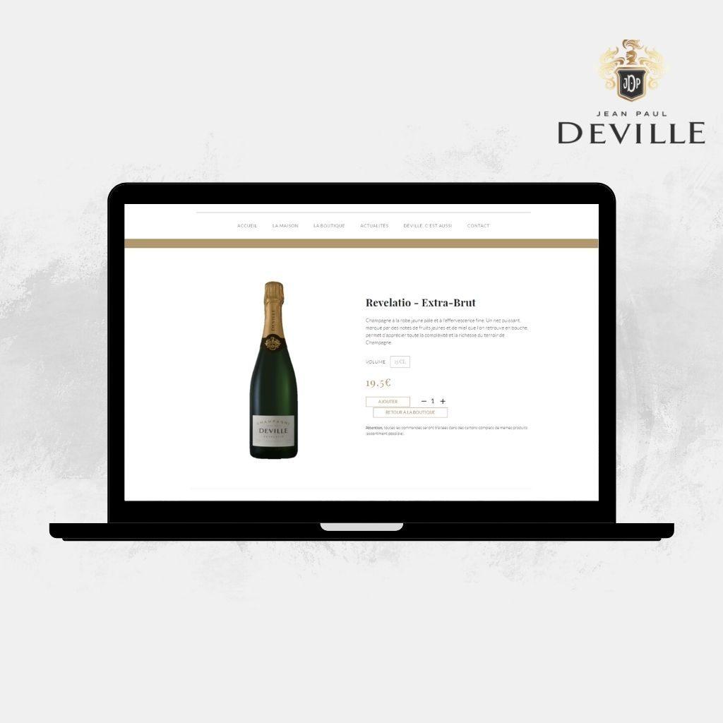 Acheter une bouteille Jean-Paul Deville