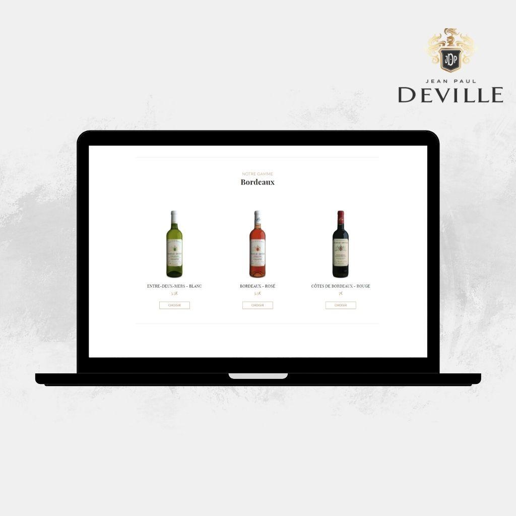 Bordeaux champagne Jean-Paul Deville