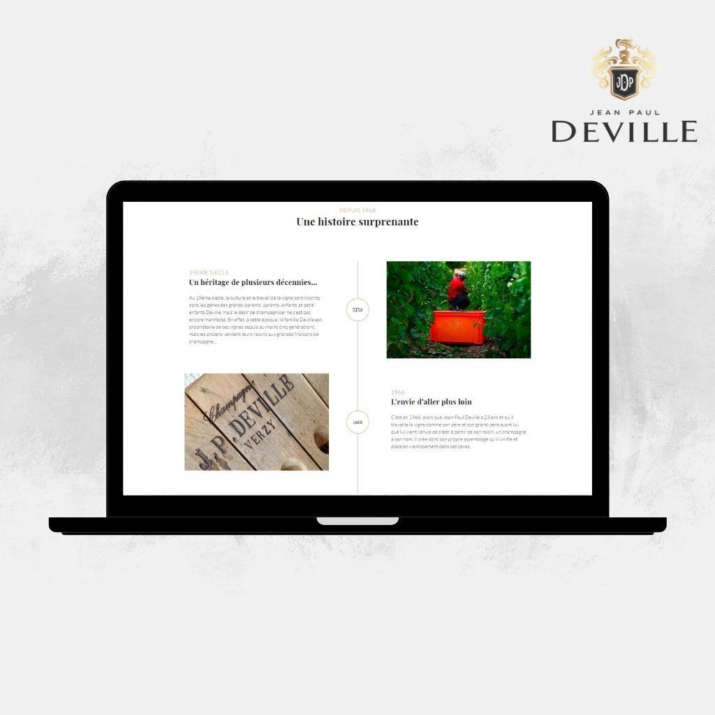 Découvrir le champagne Jean-Paul Deville