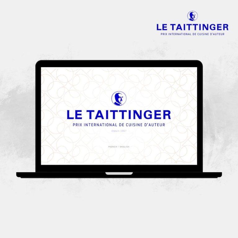 Découvrir le site internet Le Taittinger