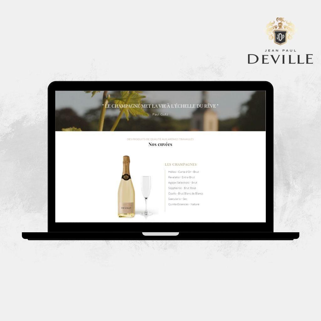 Histoire du champagne Jean-Paul Deville