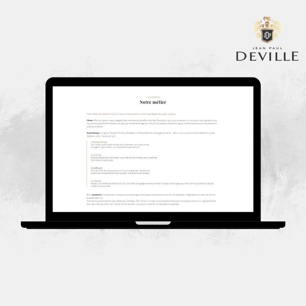 Jean-Paul Deville histoire