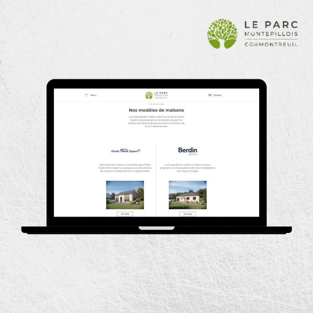 Plurial Home site Internet