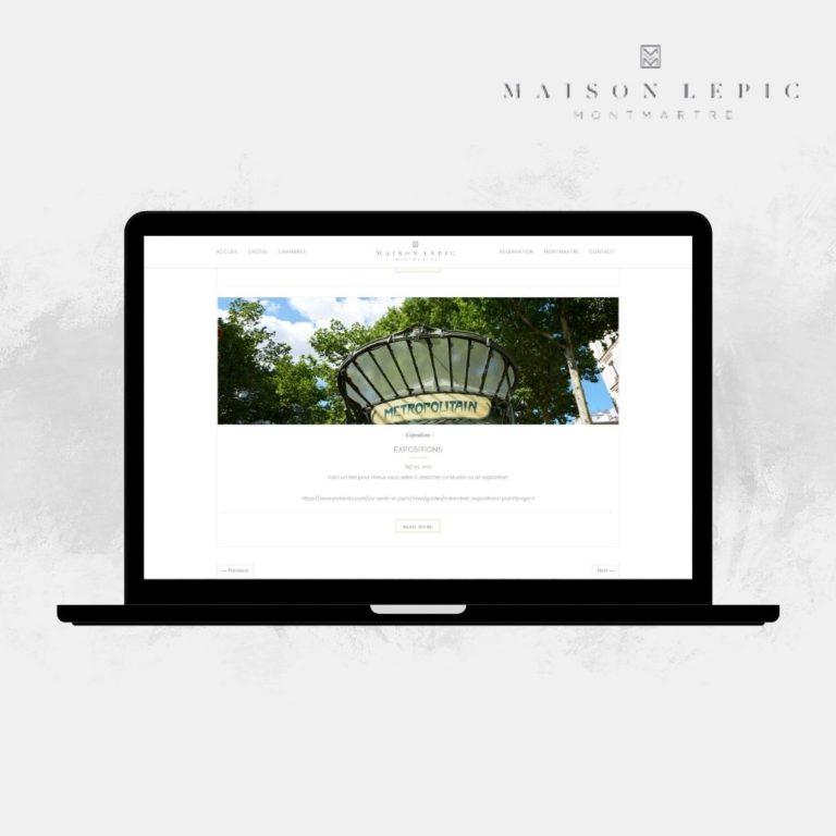 Reserver son séjour Maison Lepic Montmartre (2)