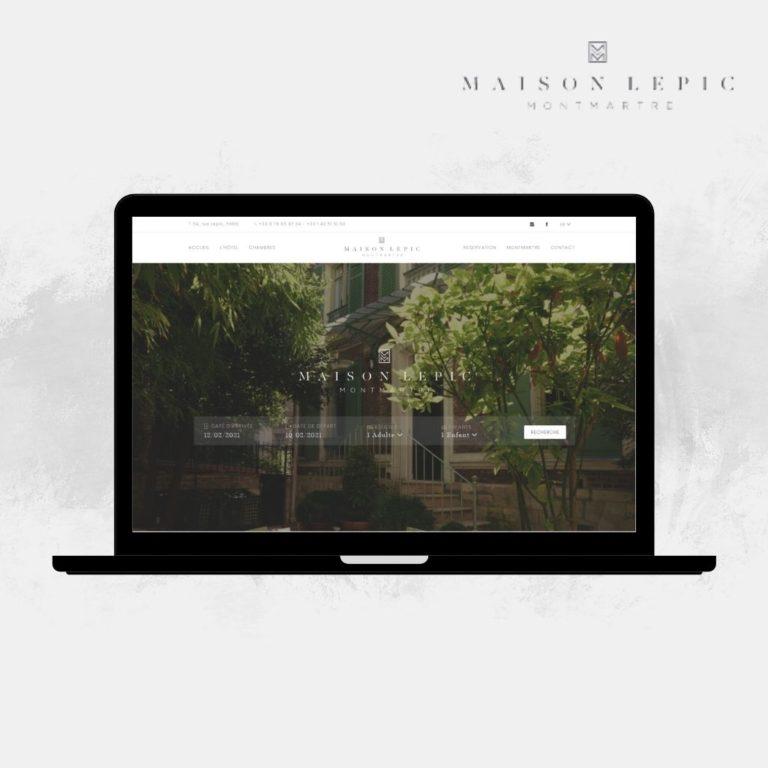 Reserver son séjour Maison Lepic Montmartre