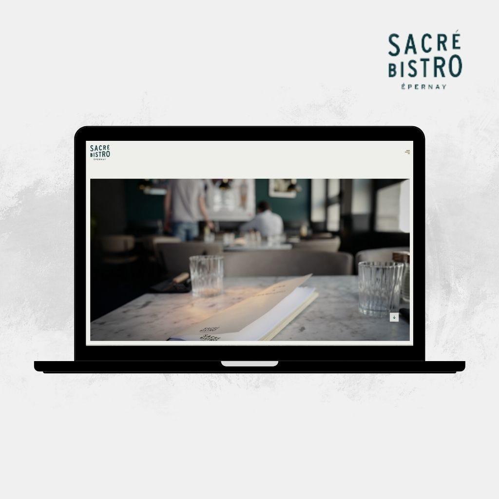 Site Interner Sacré Bistro