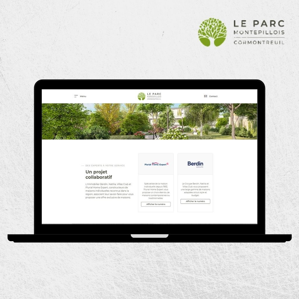 Site Internet Plurial Home