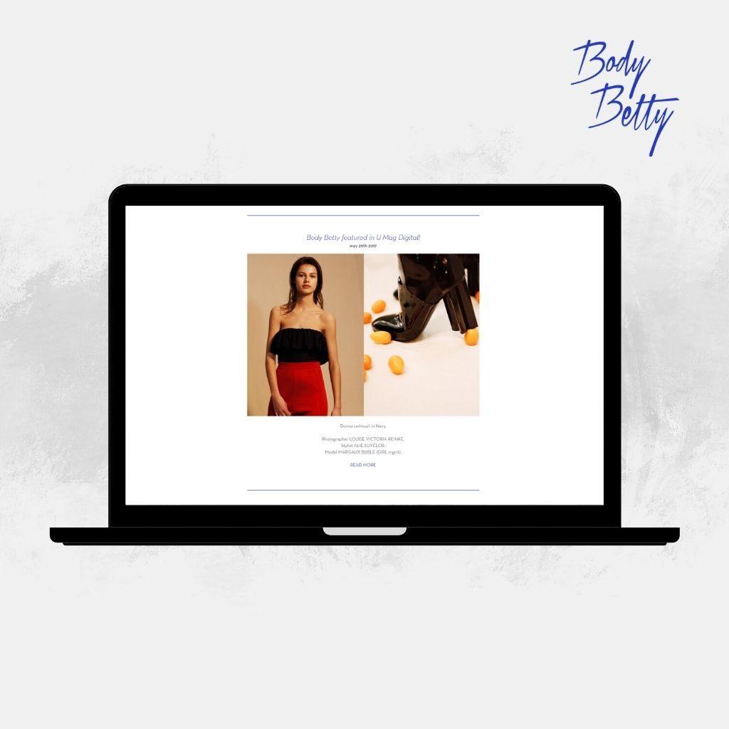 Site e-commerce Body Betty
