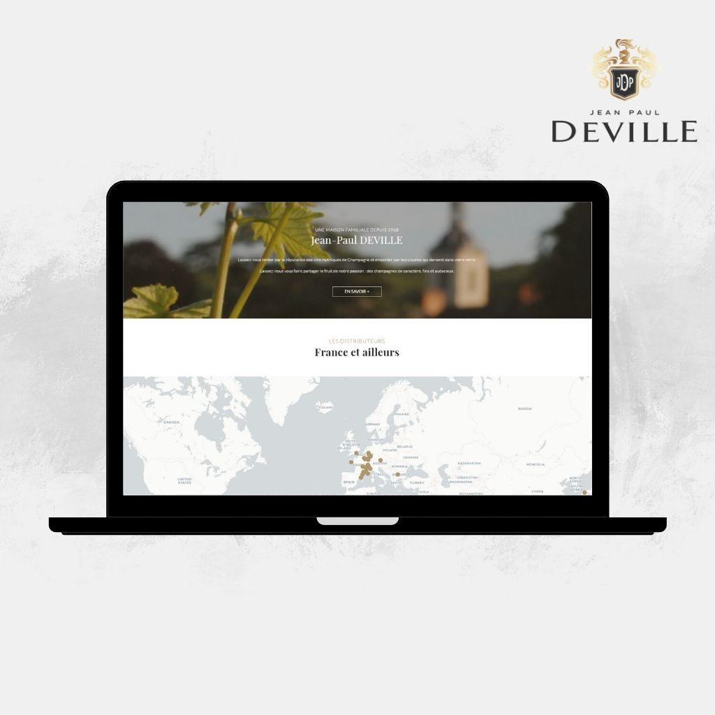 Trouver champagne Jean-Paul Deville