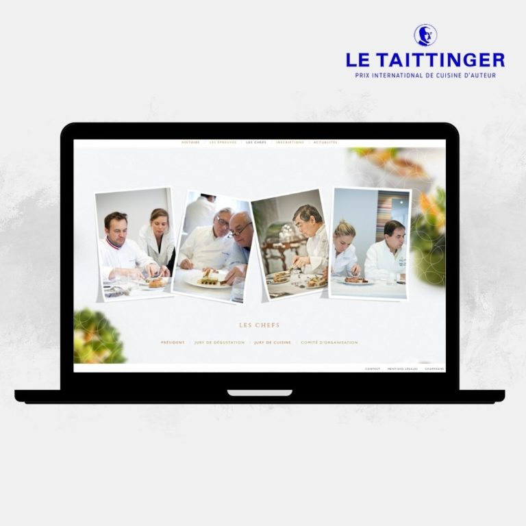 Site Internet Le TAITTINGER